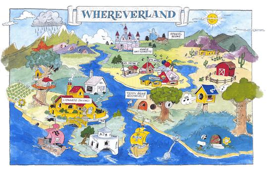 Whereverland Map